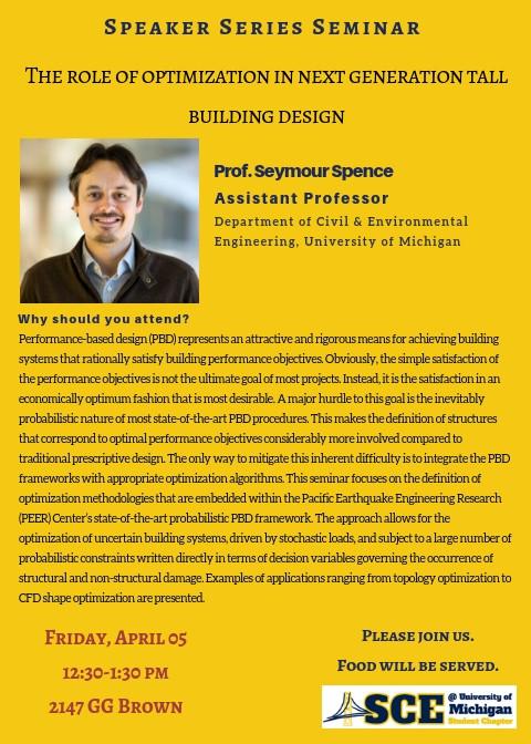 Prof. Spence in ASCE Speaker Series@ 04/05