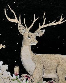 Deer Ink on Wood.JPG