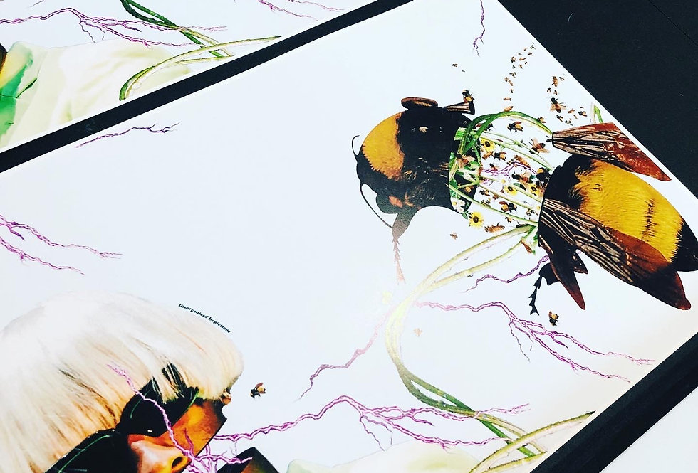 "Limited Edition, Hand-Signed ""SWARM"" Print (Only 10 Copies)"