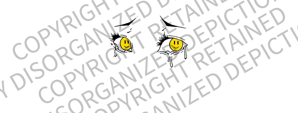 Happy Tears OG Design License (For Canvas or Tattoo Use ONLY)