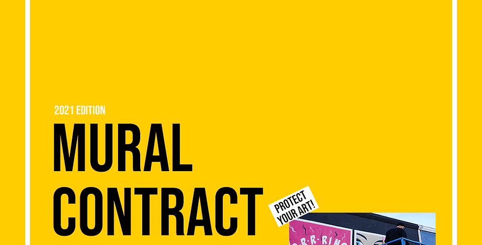Mural Contract Template