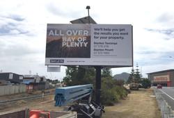 billboard signs Mount Maunganui