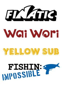 Boat name design