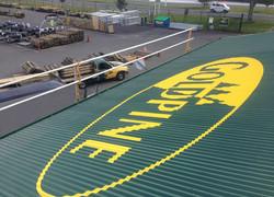 roof sign Tauranga