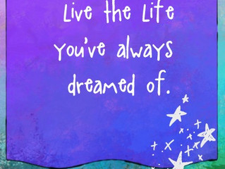 Be brave and create the life you want--or someone else will create it for you.