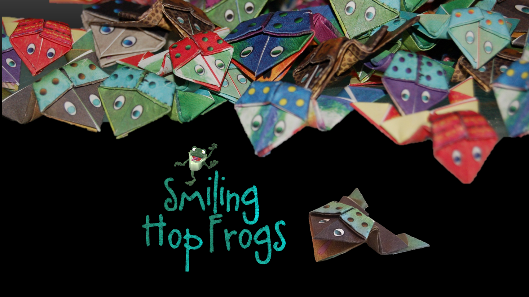FREE Smiling Hop Frogs