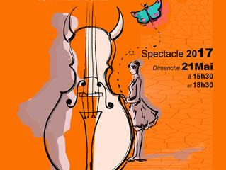L'affiche de notre spectacle : DIABLAM