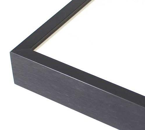 国産アルミ額縁(ブラック) サイズ:A5~A1/ 角20cm~50cmの複製