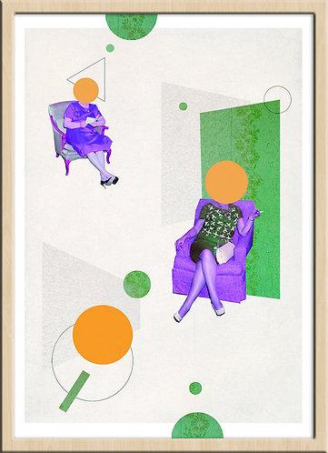 インテリア|ポスター|おしゃれ|モダン|アート|デザイン|北欧|ポップ |レトロ |人気|オランダ|海外インテリア|へんてこポップ|内装|インテリアコーディネート|家具|かわいい|コラージュ|部屋|シュール|遊び心|内装|ライフスタイル