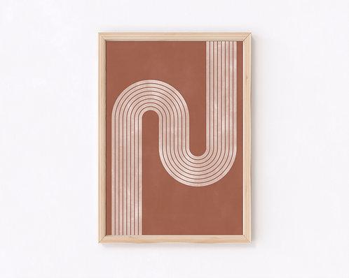 テラコッタ デザインポスター3