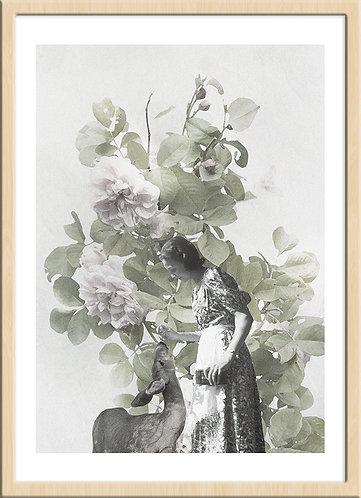 インテリア|ポスター|おしゃれ|モダン|アート|デザイン|北欧 |レトロ |人気|海外インテリア|ヴィンテージ|ビンテージ|内装|家具|かわいい|コラージュ|部屋|papertrumpets|ボタニカル|鹿|バンビ|写真|ナチュラル