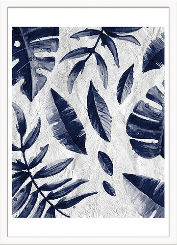 Tropic Indigo Leaves