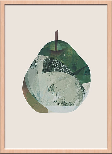 pear(ジークレー版画)