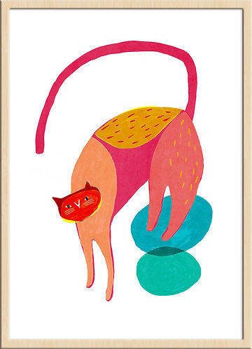 Dancing Cat 2 (Limited Edition)