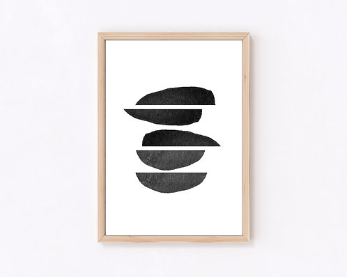 Shapes VII black