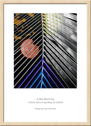 和室 インテリア 壁 掛け軸 和モダン 俳画 俳句 ポスター アート 芸術 ジークレー ジクレー 版画 ハーネミューレ 写真