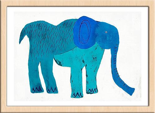 Asagi colored Elephant (Limited Edition)