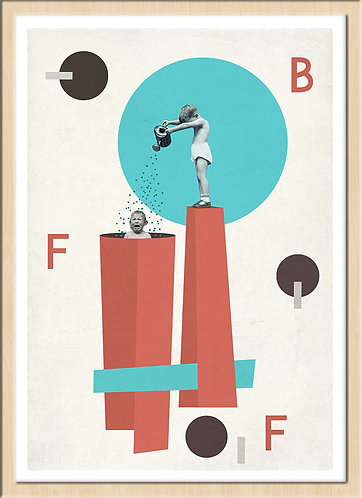 インテリア|ポスター|おしゃれ|モダン|アート|デザイン|北欧|ポップ |レトロ |人気|オランダ|海外インテリア|へんてこポップ|内装|インテリアコーディネート|家具|かわいい|コラージュ|部屋|シュール|遊び心|プレゼント|友達