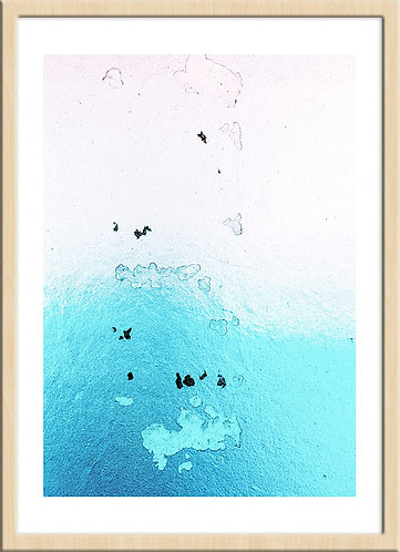 午後のプール (ジークレー版画)