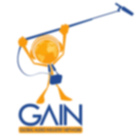 gain audio logo