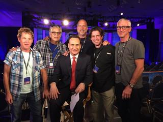 NBC Nightly News crew with Jose Diaz-Balart