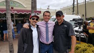 ESPN anchor Max Bretos and one of Miami's finest DP's Carlos Alvarez