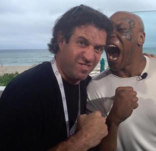 Heavyweight champion Mike Tyson