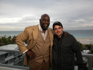 Chris Gardner, inspiration for the movie The Pursuit of Happyness