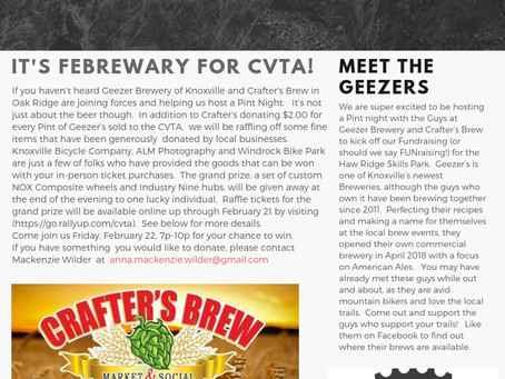 It's Febrewary for the CVTA!