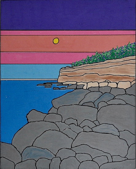 Maine Acadia National Park (set of 5 blank cards)