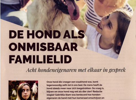 Nuyvilaq Working Dogs in het tijdschrift Me & My Dog.