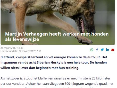 Nuyvilaq Working Dogs op NU.nl
