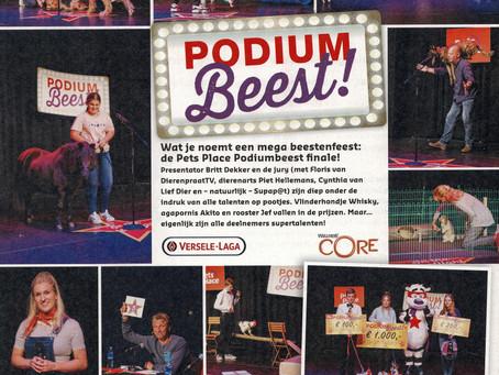 Xtreme en Martijn in het blad Liefdier.