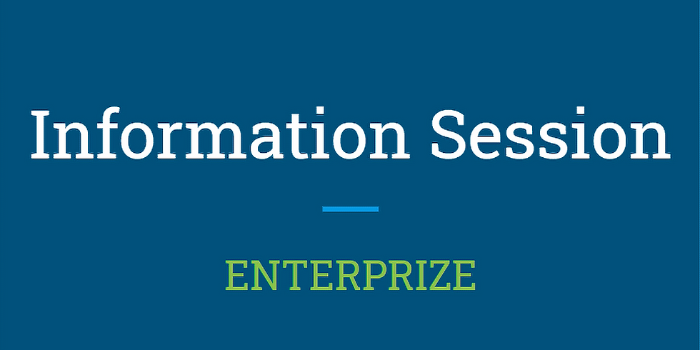 ENTERPRIZE Information Session 2021