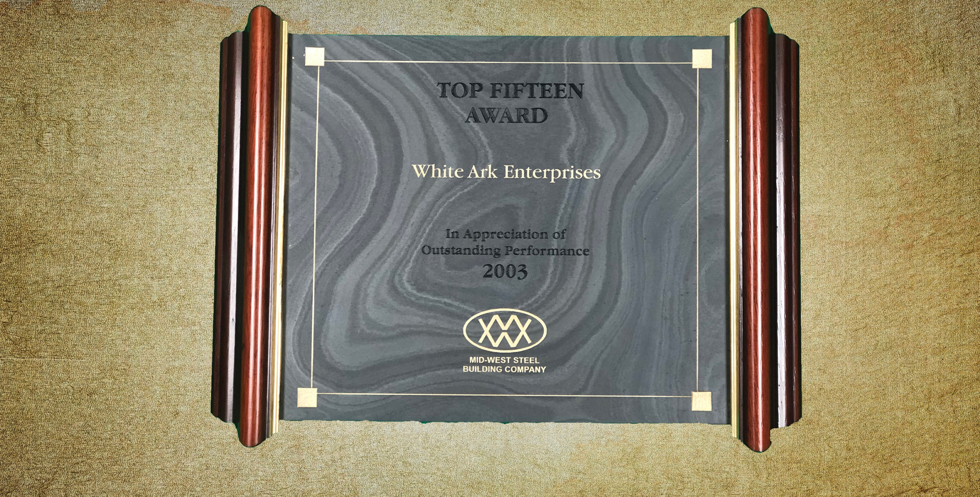 Top Fifteen Award 2003