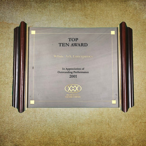 Top Ten Award 2001