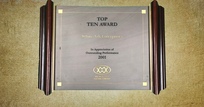 Top Ten Award 2001