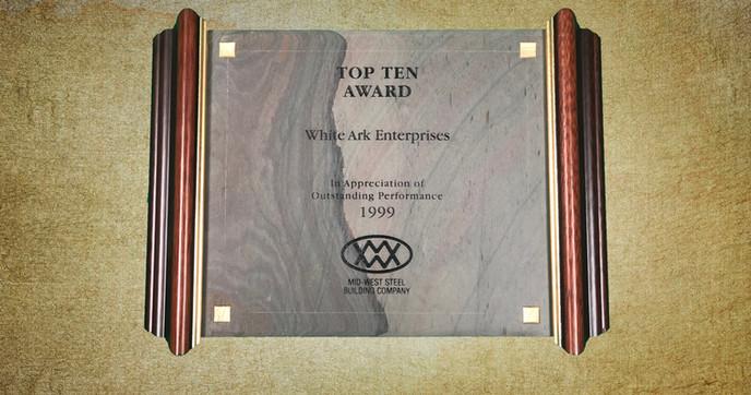Top Ten Award 1999
