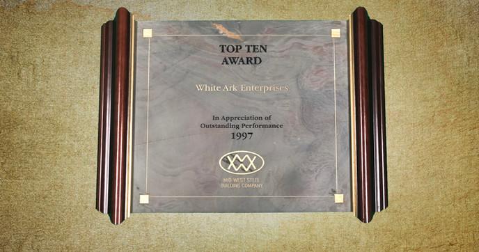 Top Ten Award 1997