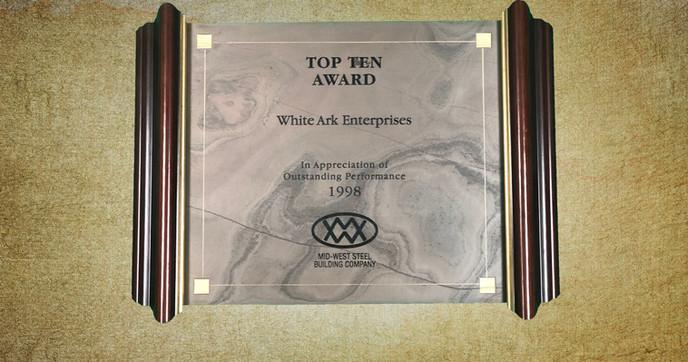 Top Ten Award 1998
