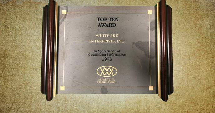 Top Ten Award 1996