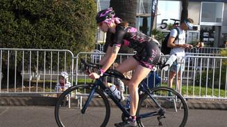 IM 70.3 Worlds Start of Bike