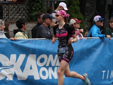 Even the Swim was Hilly: IM 70.3 Connecticut Race Recap