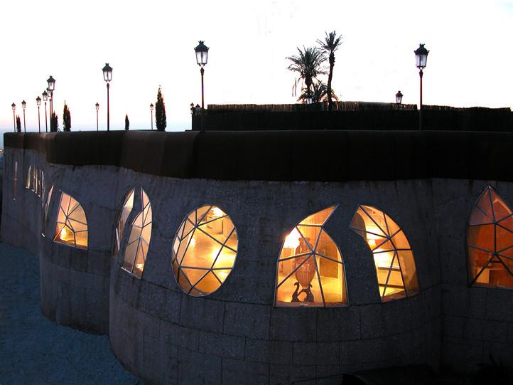 Terraza sobre la Sala de exposiciones