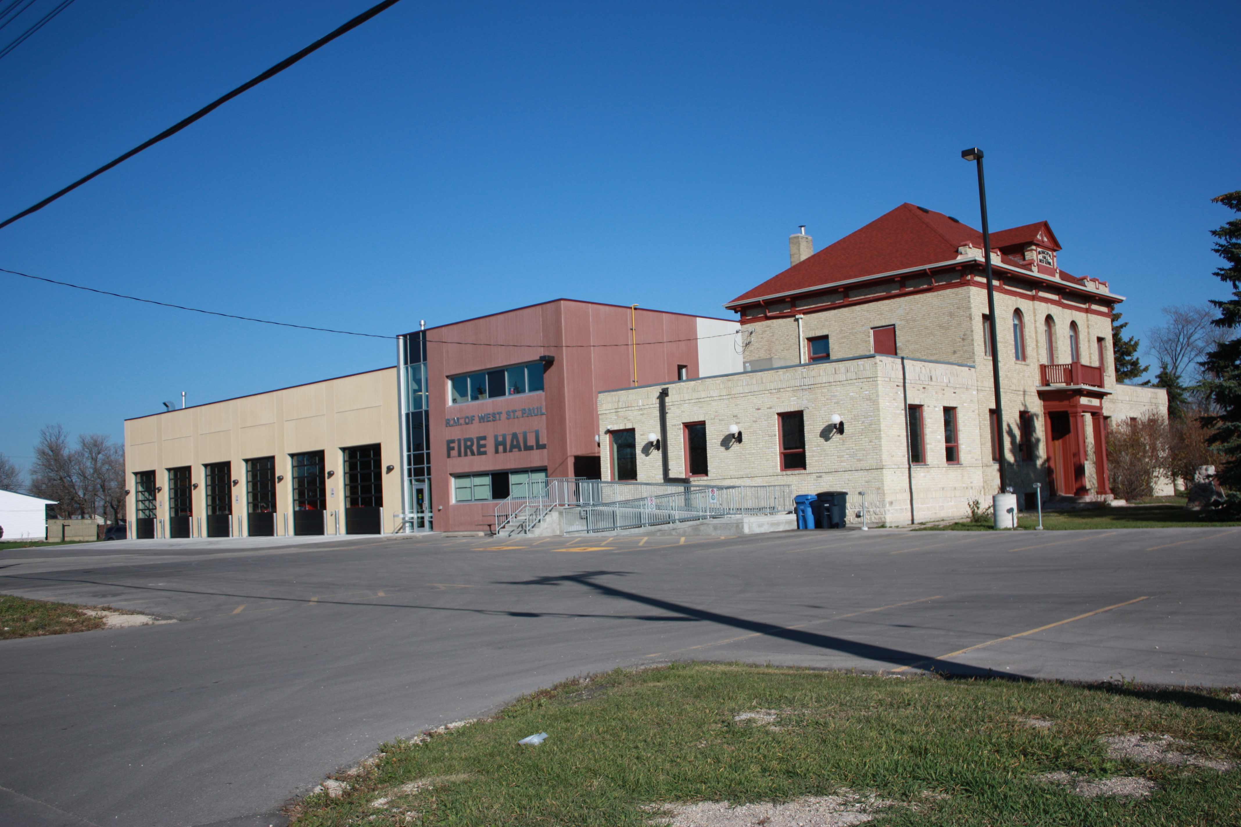 West St.Paul Fire Hall- Wpg