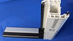 kommerling 90 mm Z into low threshold door