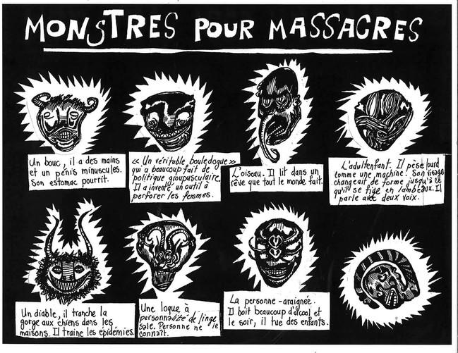 Monstres pour massacres