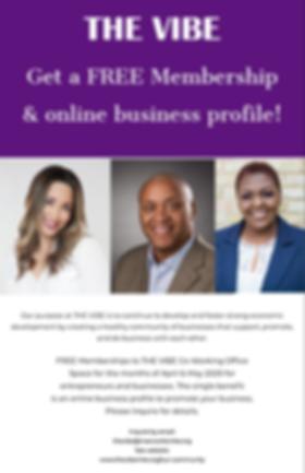 THE VIBE Free Membership Online Profile