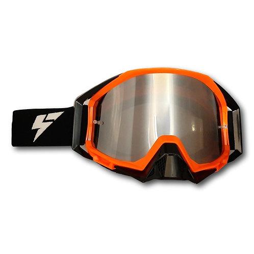 LY64 Super Wide Vision Pro Goggle Orange Black