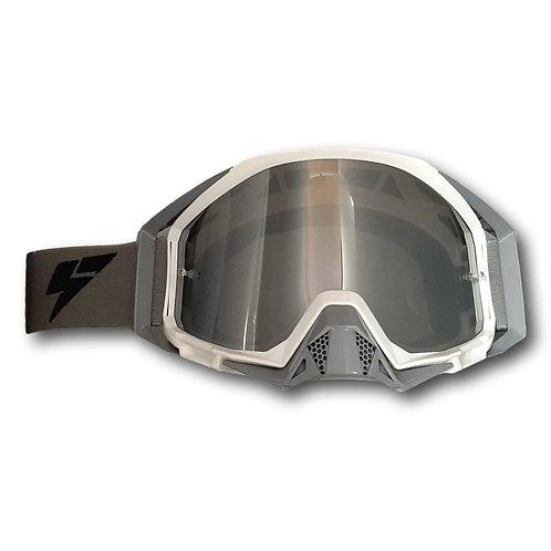 LY64 Super Wide Vision Pro Goggle White Grey